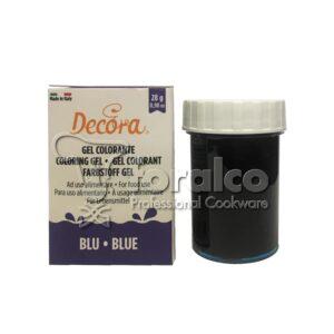 Colorante in gel Blu Decora 28 g