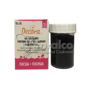 Colorante in gel Fucsia Decora 28 g