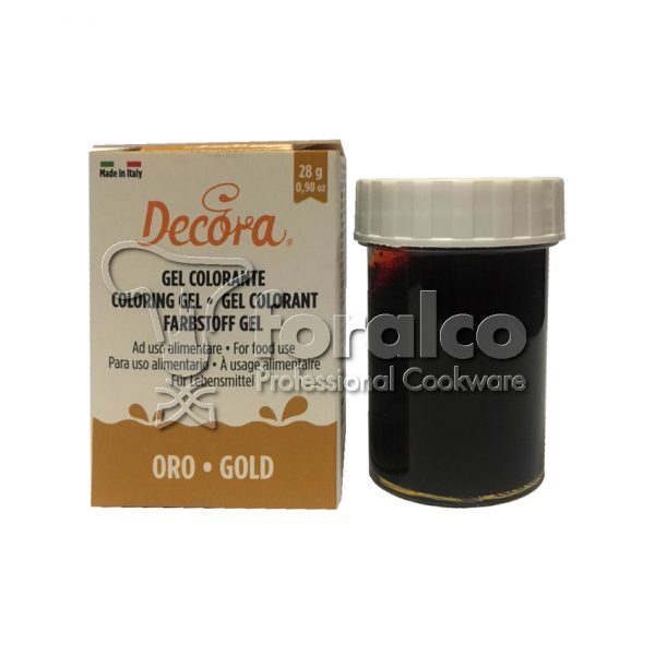 Colorante in gel Giallo Oro Decora 28 g