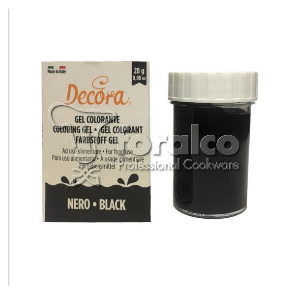 Colorante in gel Nero Decora 28 g