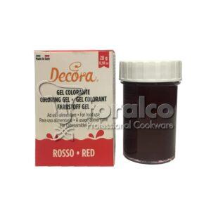 Colorante in gel Rosso Decora 28 g
