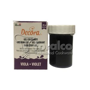 Colorante in gel Viola Decora 28 g