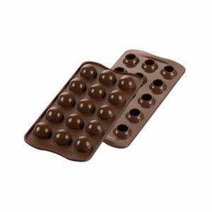 Stampo in silicone tartufino 3D Silikomart Easy Choc