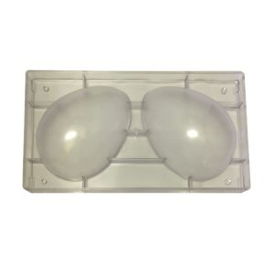 Stampo 2 uova in policarbonato 176x125 mm