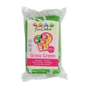 Marzapane verde Grass Green Funcakes 250 gr