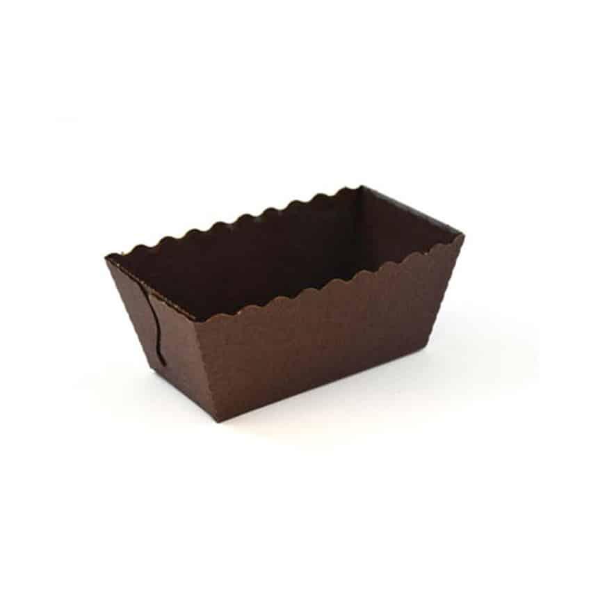 Stampi mini plumcake in carta 15 pz
