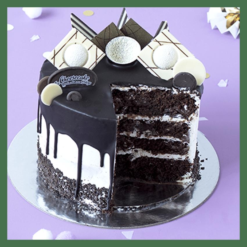 Drip cake nero