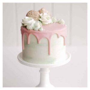 glassa fondente drip cake rosa