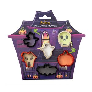 Mini tagliapasta Halloween 6 pz