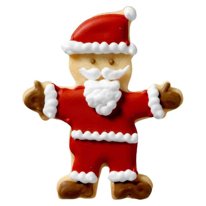 Stampino biscotti Babbo Natale coccola