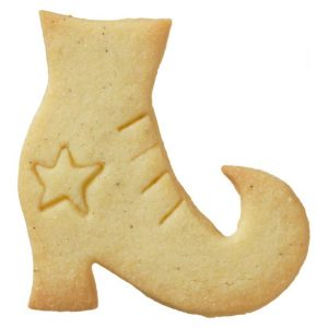 Stampino biscotti stivale strega