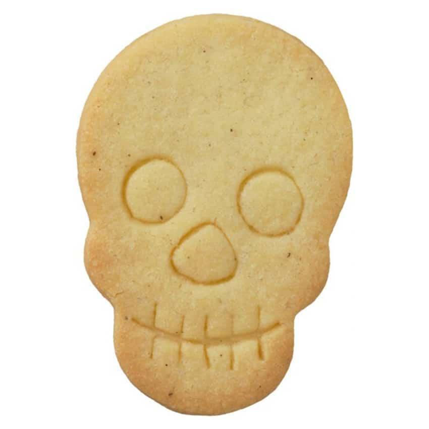 Stampino biscotti teschio