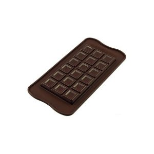 Stampo in silicone tablette choco bar Silikomart