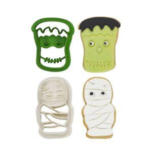 Tagliapasta mummia e Frankenstein in plastica