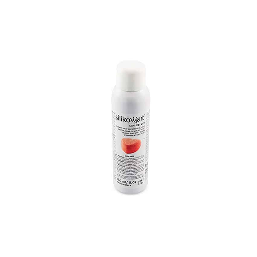 Spray velluto velvet rosso Silikomart 150 ml