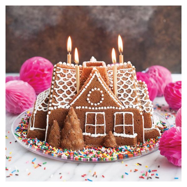 Stampo antiaderente Gingerbread House Nordic Ware