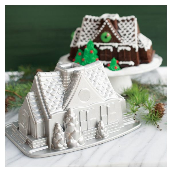 Stampo Gingerbread House Nordic Ware antiaderente