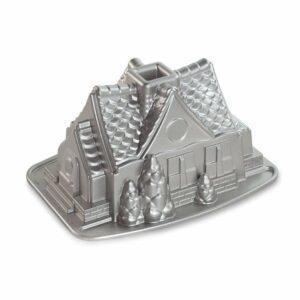 Stampo Gingerbread House Nordic Ware in alluminio antiaderente