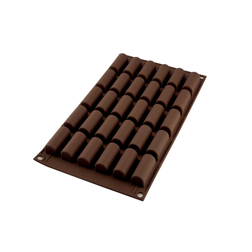 Stampo in silicone Mini Bûche cioccolatini SF129 Silikomart