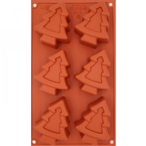 Stampo in silicone Xmas tree SF202 Silikomart Professional
