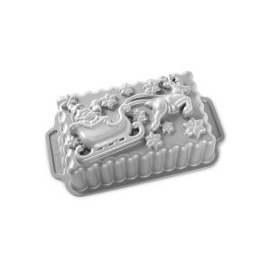 Stampo Slitta Babbo Natale Nordic Ware in alluminio antiaderente