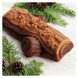 Stampo Tronchetto di Natale Nordic Ware antiaderente