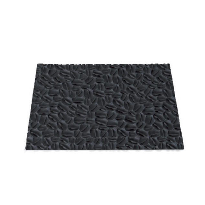 Texture Mat Coffee tappeto in silicone TEX06 Silikomart