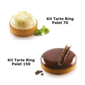 Kit tarte ring Palet Silikomart Professional