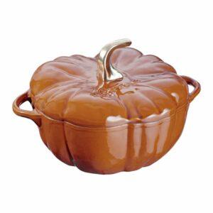 Cocotte Zucca in ghisa smaltata Cannella 24 cm Staub