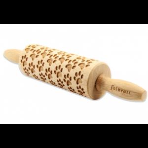 Mattarello Decorativo Orma in legno
