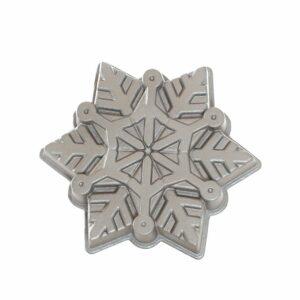 Stampo Frozen Snowflake Nordic Ware in alluminio Antiaderente