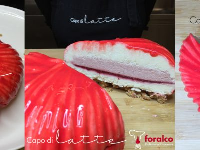 Cheesecake alla fragola Lovely 1200 Silikomart