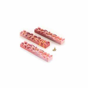 Stampo per barrette di cioccolato Goccia B CH009 in Tritan Chocado Silikomart