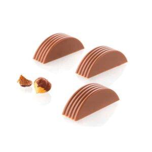 Stampo per cioccolatini Riga P CH004 in Tritan Chocado Silikomart