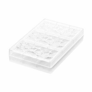 Stampo per tavolette di cioccolato Goccia T CH008 in Tritan Chocado Silikomart Professional