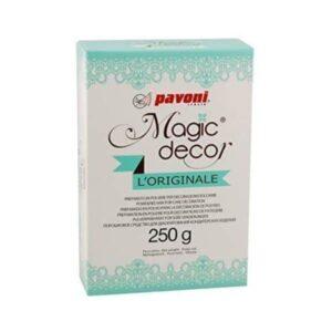 Preparato per Pizzi Magic Decor in polvere Pavoni - 250 g