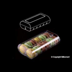 Scatola per Macarons in plastica Macadò Silikomart