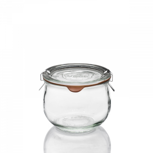 Vaso Weck® Corolle 580 ml con Coperchio