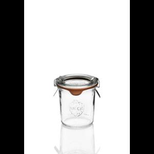 Vaso Weck® Droit 140 ml con Coperchio