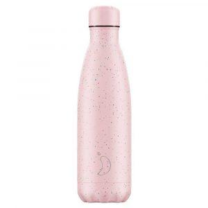 chillys bottle borraccia termica 500 ml speckled pink foralco
