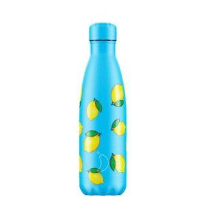 chillys bottles borraccia termica 500 ml lemon foralco