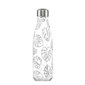chillys bottles borraccia termica 500 ml line art leaves foralco