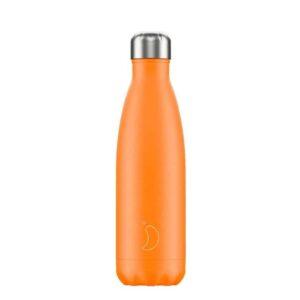 chillys bottles borraccia termica 500 ml neon orange foralco