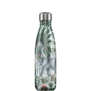 chillys bottles borraccia termica 500 ml tropical elephant foralco