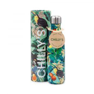 chillys bottles borraccia termica 500 ml tropical toucan foralco