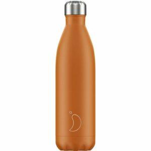 chillys bottles borraccia termica 750 ml matte burnt orange foralco