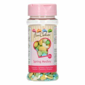 zuccherini sprinkle medley primavera 50 g funcakes