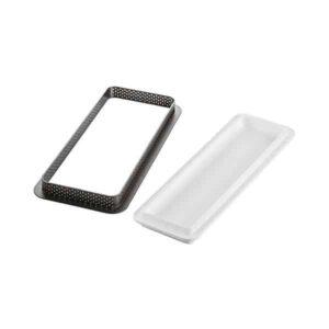 kit tarte ring rectangular 265x105 silikomart professional
