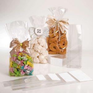 sacchetti trasparenti per biscotti varie dimensioni