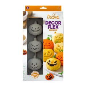 stampo zucchette halloween in silicone decora